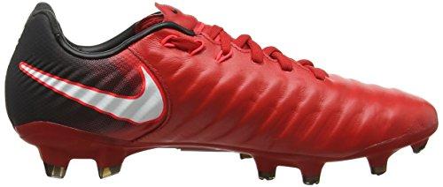 Herren Nike Rot Fußballschuhe Rouge 616 Tiempo Iii Cramoisi Brillant Fg Université Noir Legacy Blanc pwT4dq