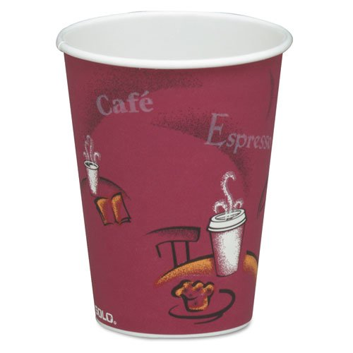 Bistro Design Drink Paper Maroon product image