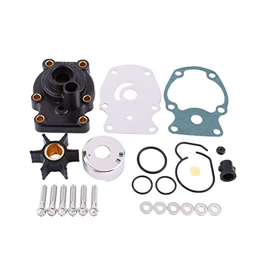 - Full Power Plus Impeller Kit Replacement for Johnson Evinrude 25 HP Lower Unit Rebuild Kit(1985-Up) 18-3382 393630