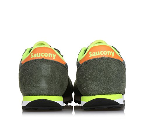 Green Sneaker orange Saucony Jazz Allacciata Mainapps IAw5q