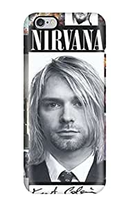 New Fashionable GunsRoses Cover Case Specially Made For Iphone 6 Plus(nirvana)