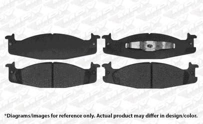 TA136041 Fits: 1994 94 1995 95 1996 96 Ford F150 RWD OE Series Rotors + Metallic Pads Max Brakes Front Premium Brake Kit