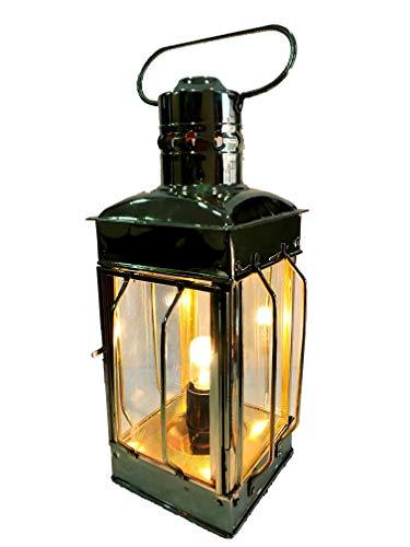 Nautical Brass Lantern Electric Lamp Decorative Hanging Lantern Marine Ship Lamp by Marine Nautical Store