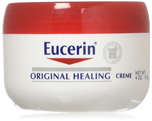 Eucerin Original Healing Rich Feel Creme 4 oz (Pack of 2)