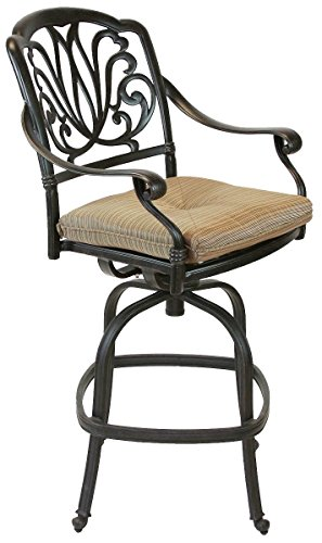 Elizabeth Outdoor Patio Barstool Counter Height 26
