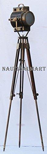 - Shiv Shakti Enterprises Nautical Hollywood Spot Light Searchlight Studio Floor Lamp With Tripod Stand by Shiv Shakti Enterprises