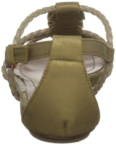Cubanas Mai Tai400 - Sandalias de vestir para mujer Dorado