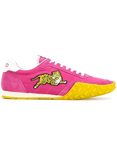 Kenzo-Womens-F761SN122F9226-Fuchsia-polyamide-Sneakers