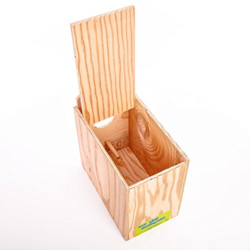 Ware-Manufacturing-Love-Bird-Wood-Reverse-Nest-Box