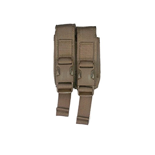 Pouch Pistol Quad Mag (High Speed Gear Modular Pistol Mag Pouch (Coyote Brown, Double))