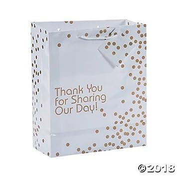 Amazon.com: 12 Regalo Boutique Medium bolsas de regalo de ...