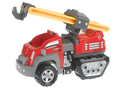 buy rescue heroes action trackers firetruck online at low prices in