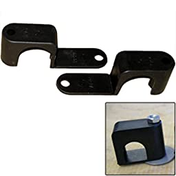 Weld Mount Single Poly Clamp f/1/4 x 20 Studs - 1 OD - Requires 1.75 Stud - Qty. 25 Marine RV Boating Accessories