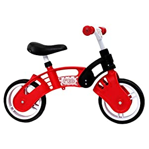 1st Ride Red Toddler Training No Pedal Balance Bike 18 months to 3 years