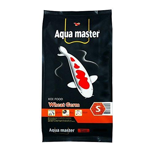 Aqua Master Wheat Germ Fish Food, 22-Pound/Bag, Large