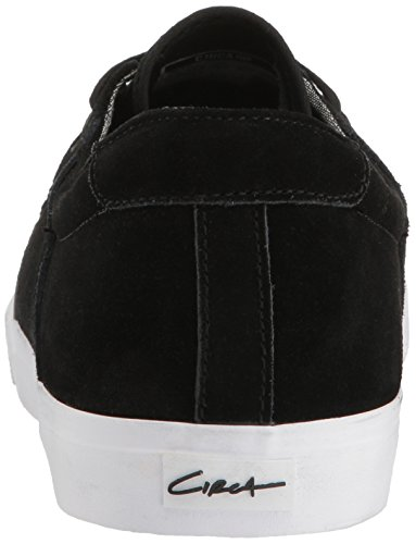 C1RCA Unisex Adults' Alto Skate Shoe Black (Black/White) VEmlpv4T