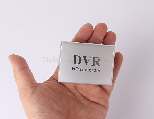 Mini DVR 1CH Video 1CH Audio Realtime SD Card Video Recorder DVR for CCTV Camera, Support 32GB SD Card