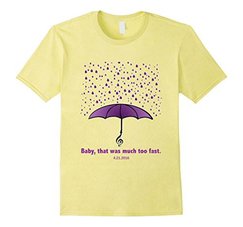 Mens Purple Teardrops of Rain