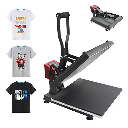 Heat Press Machine 15x15 inch Digital Industrial Sublimation Printing Press  Heat Transfer Machine for T-Shirt
