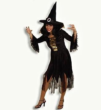 Carnaval 11584 disfraz de bruja Halloween vestido MORGANA eysee ...