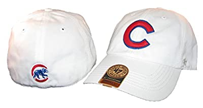 47 Brand Chicago Cubs White Franchise Fitted Hat
