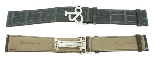 jacob-co-genuine-real-alligator-dark-grey-band-strap-22mm-for-47mm-watch