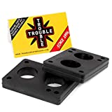 TROUBLE SKATEBOARDS Riser Pads Rubber Risers 12mm