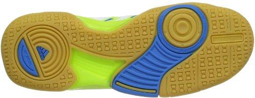 adidas Court Stabil Elite XJ D66036 Unisex-Kinder Tennisschuhe Grün (solar slime/solar blue s14/running white)