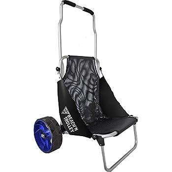 Amazon.com: Seattle Sports - Carro de mano y silla plegables ...