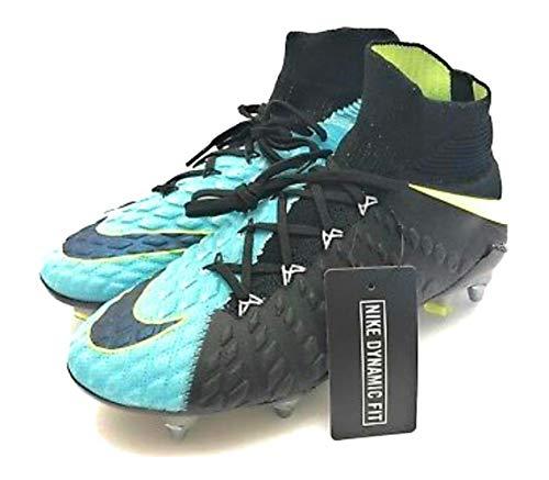 new styles 9999e 87540 Nike Hypervenom Phantom III 3 DF SG Pro Soccer Cleats Acc Flyknit  881548-401 Light Aqua Size 11.5