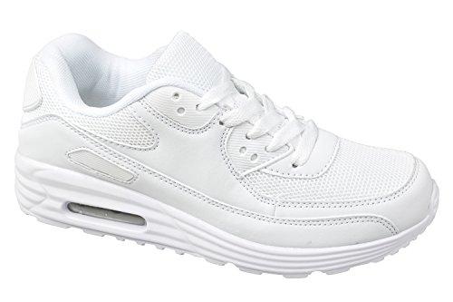 gibra Femme Baskets blanches Femme Baskets qtWFp