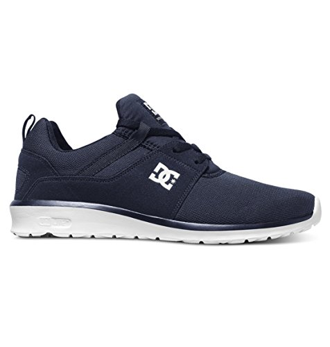 DC Heathrow Mesh Mens Navy Trainers Shoes White ZZwpHqF