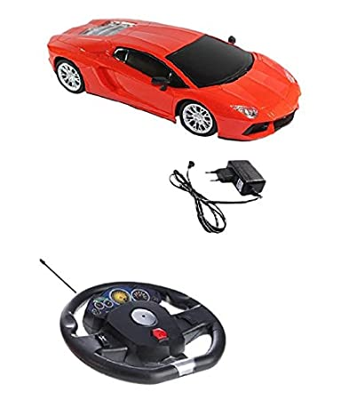 Fantasy India Plastic U0026 Alloy Lamborghini Gravity Sensor R/C Car With  Steering (1