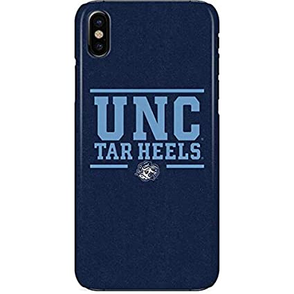 Amazon.com: Universidad de Carolina del Norte iPhone X funda ...