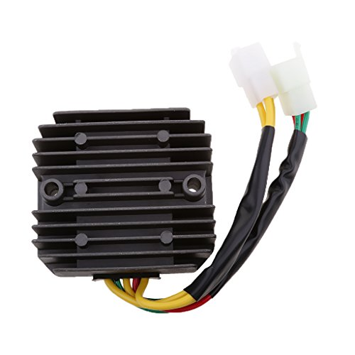 MonkeyJack Motorcycle Voltage CH125/Regulator Rectifier For Honda Motorcycle Black by MonkeyJack