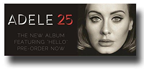 Adele Poster - Promo Flyer for 25 Brnw