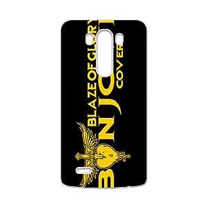 Golden Blaze of Glory Cell Phone Case for LG G3