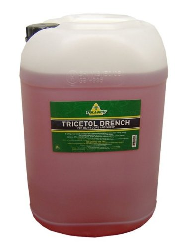 Trilanco Tricetol Dairy Cow & Sheep Drench x Size  25 Lt