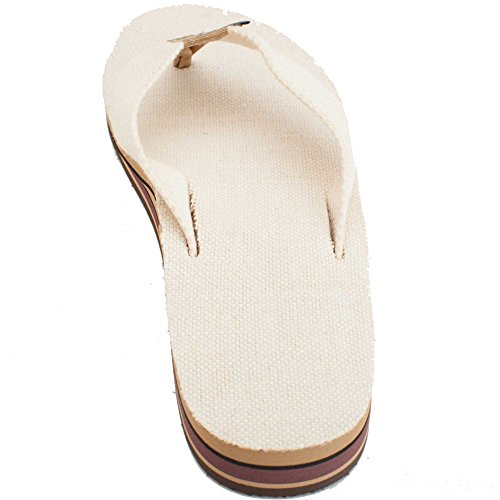63b930979 lovely Rainbow Womens Double Layer Hemp Top and Strap with Arch Support  Sandal