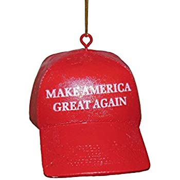 kurt adler yamc7571 3625 make america great again hat ornament