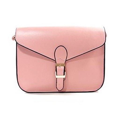 Hobos Casual Preppy Womens Shoulder Mini Satchels Totes Pink Bags Handbags Style FTSUCQ Messenger v6q1aCwxv