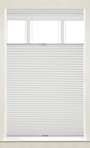(PowerSellerUSA Cordless Window Blinds Cellular Top-Down Bottom-Up Honeycomb Pleated 3/8