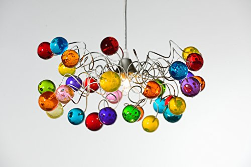 Lightshade handmade colorful ceiling lamp – Bubble light fixture – Lights for Living Room – Home Decorations Unique Light Fixtures – Gift Ideas