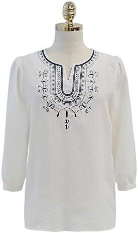 XXIN Una Camisa Blanca Pequeño Video Camisa Camisa Delgada ...