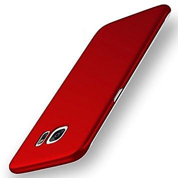custodia samsung galaxy s7 edge a libro rossa
