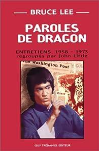 Paroles de dragon par Bruce Lee