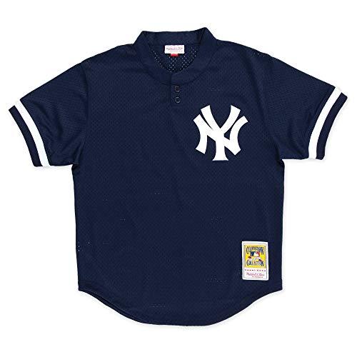 (Mitchell & Ness Don Mattingly New York Yankees Men's Authentic 1995 BP Jersey)