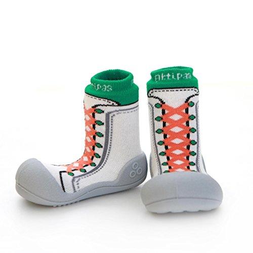 attipas nuevo Zapatillas Verde Bebé Walker–Zapatos de bebé Zapatos Zapatillas verde verde Talla:25.5