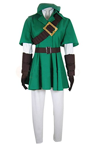 UU-Style Men's Hoodie Top The Legend of Zelda Link Coat Jacket Pants Hoodie Outfit Suit Uniform Cosplay Costume