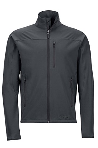 - Marmot Tempo Men's Softshell Jacket, Jet Black, Medium